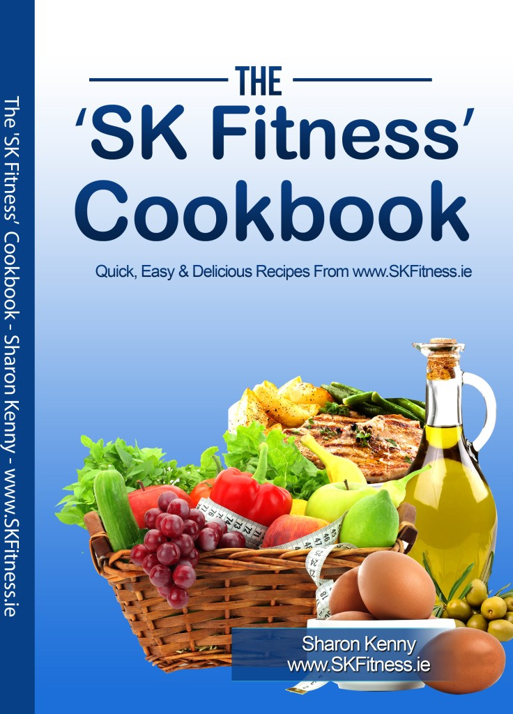 SK Fitness Cookbook Cover Front